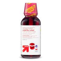 up & up Cold & Flu Relief Multi-Symptom Night Cherry Liquid - 12 oz