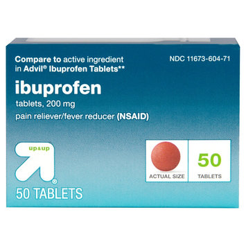 up & up Ibuprofen 200 mg Tablets
