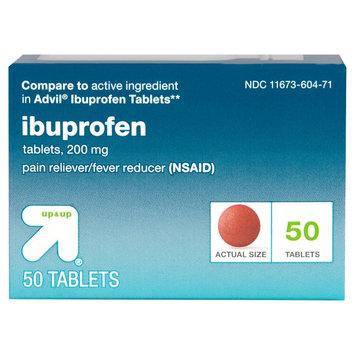 up & up Ibuprofen 200 mg Tablets