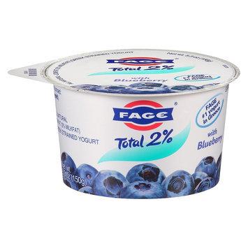 Fage 2% Blueberry Yogurt 5.3 oz
