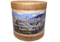 Watershed Bath Salts Azure Mountain Wild Carrot Herbals 10 oz Salt