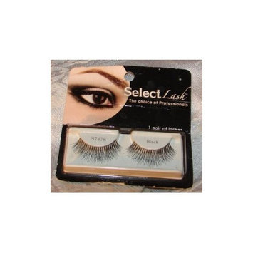 Select Lash - The Choice of Professionals - 1 Pair of Black False Eye Lashes (S47)