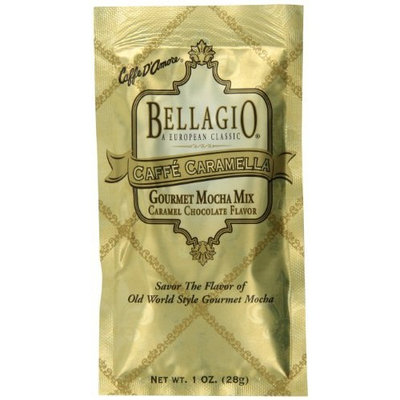 Bellagio Caffe Caramella Mocha Mix, 1-Ounce Packets (Pack of 25)