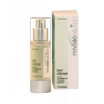 Revaleskin Day Cream With Exclusive 1.0% Coffeeberry Formulation & SPF 15 Sunscreen, 1.7-Ounce Pump Bottle