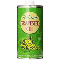 Roland Grapeseed Oil, 16.9-Ounce Canisters (Pack of 3)