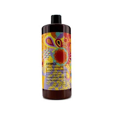 Amika Triple RX Shampoo (For Dry Damaged Hair) 1000ml/33.8oz