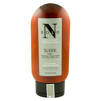 Solo Noir Sleek 2-in-1 PreShave + Shave Cream