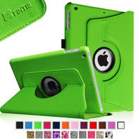 Fintie Rotating Stand Case Cover with Auto Sleep / Wake Feature for iPad Air / iPad 5 (5th Generation), Green