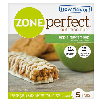 ZonePerfect Apple Gingersnap Nutrition Bar - 5 Count