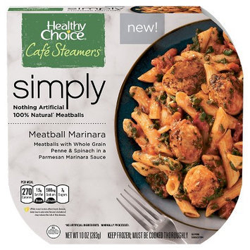 Healthy Choice Simply Steamers Meatball Marinara 10oz
