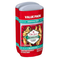 Old Spice Wild Collection Bearglove Invisible Solid Twin Pack 5.2 Oz