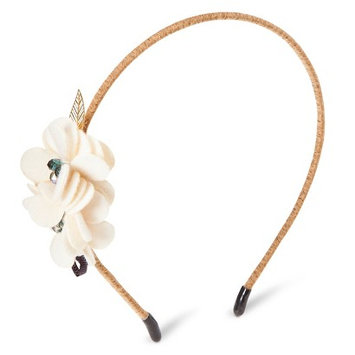 Capsule By Cara Women's Capsul by Cara Soft Floral Headband - Ivory