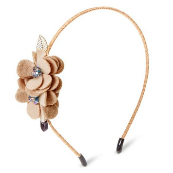 Capsule By Cara Women's Capsul by Cara Soft Floral Headband - Taupe