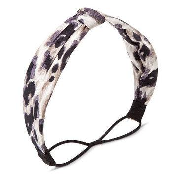 Capsule By Cara Women's Capsul by Cara Animal Print Formed Headwrap - Navy
