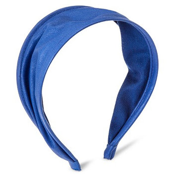 Capsule By Cara Women's Capsul by Cara Expandable Faux Leather Headband - Blue