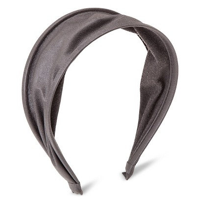 Capsule By Cara Women's Capsul by Cara Expandable Faux Leather Headband - Gray