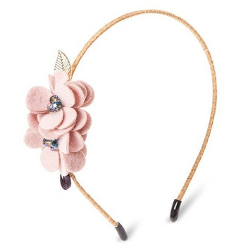 Capsule By Cara Women's Capsul by Cara Soft Floral Headband - Pink Rose