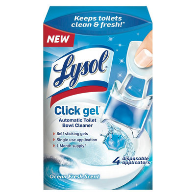 Lysol 4 ct Fresh Toilet Bowl Cleaners