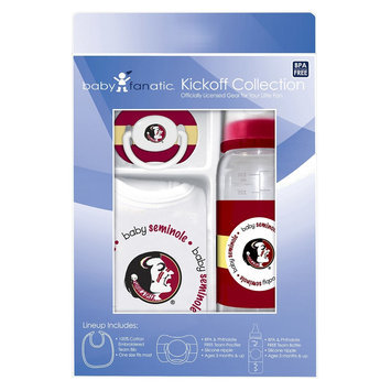 Florida State Seminoles Baby Gift Set: Kickoff Collection 3-Piece Baby Feeding Set Baby Fanatic