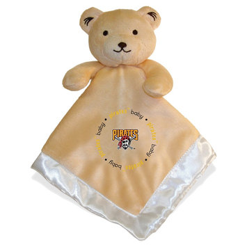Mlb Pittsburgh Pirates Baby Fanatic Snuggle Bear Plush Doll