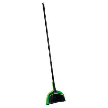 Casabella Neon Angle Broom - Black/Green, Black/Neon Green