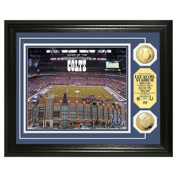 Bullion International,inc Lucas Oil Stadium Gold Coin Photo Mint by Highland Mint