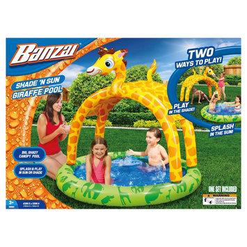 Banzai Shade 'N Sun Lion Inflatable Swimming Pool