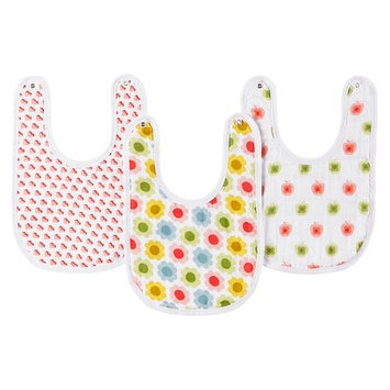 aden by aden + anais for Target by Orla Kiely little bib 3-pack - girl