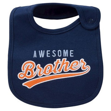 Just One You Made By Carter's Just One YouMade by Carter's Newborn Boys' Awesome Brother Bib Blue