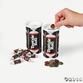 Tootsie Roll Bank, 4oz (Pack of 4)