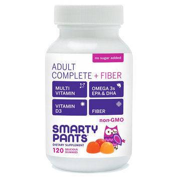 Smartypants Smarty Pants Adult Complete + Fiber Delicious Gummy Vitamins - 120 count
