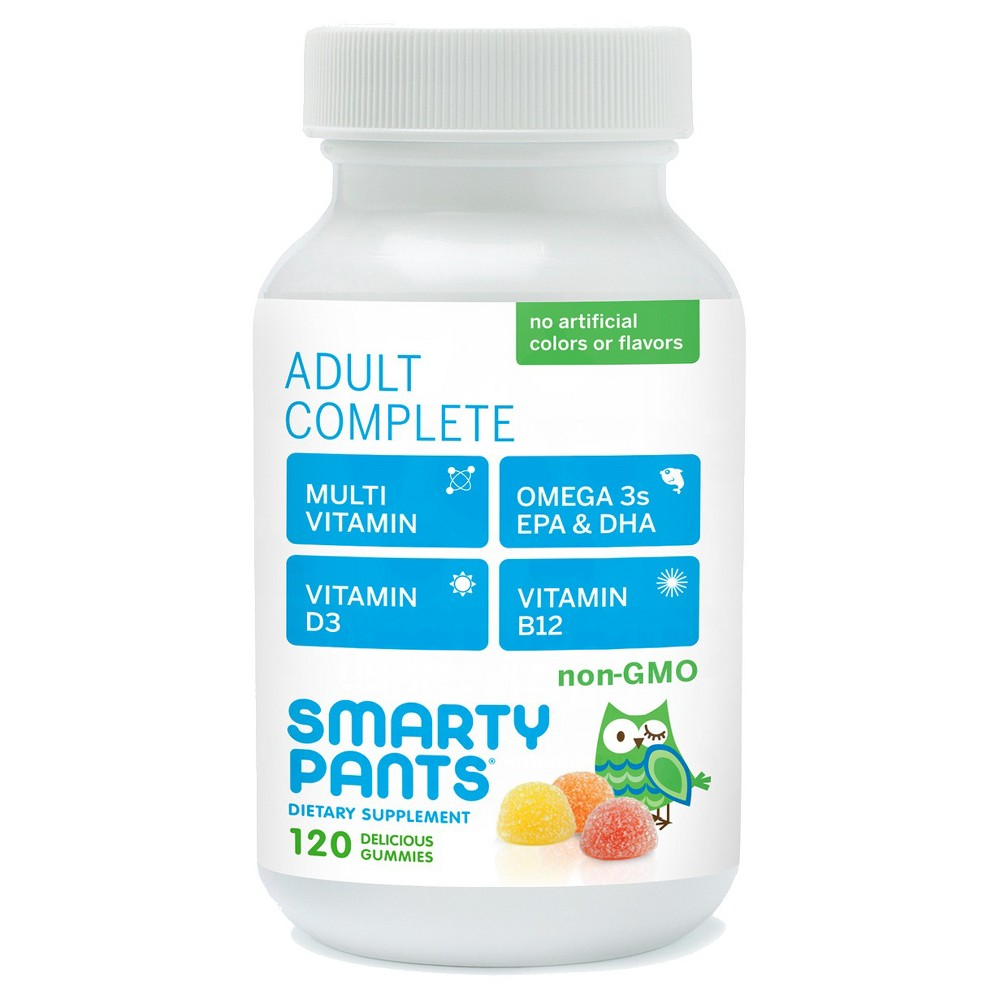 Smartypants Smarty Pants Adult Complete Delicious Gummy Vitamins - 120 Count