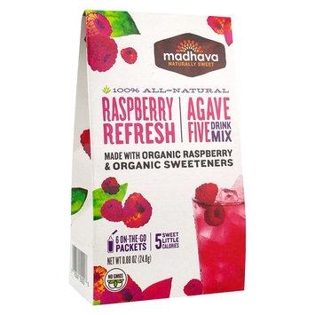 Madhava AgaveFive Drink Mix Raspberry Refresh 0.88 oz