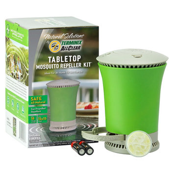 Insect Yard Repellents: Terminix AllClear Tabletop Mosquito Repeller Kit, Pack of 2