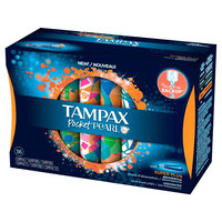 Tampax Pocket Pearl Super Plus Tampons - 36 Count