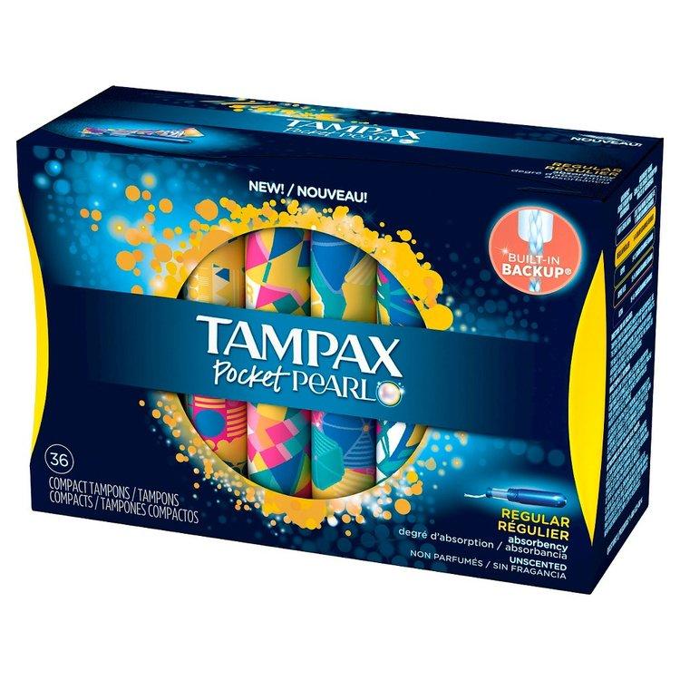 Tampax Pocket Pearl Regular 36 Ct.