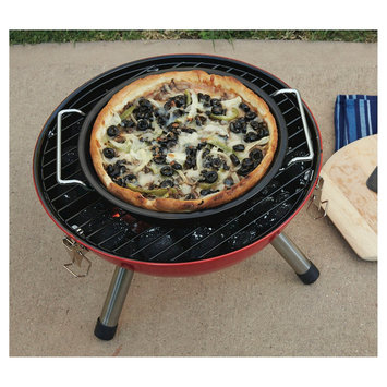 Ev Summer Deep Dish Pizza Grill Pan