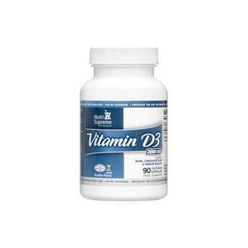 Nutri-Supreme Research Vitamin D3 2000 IU - 90 Vegetarian Capsules