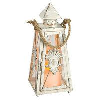 Gerson White Pyramid Lantern