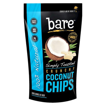 Bare Fruit Bare Simply Toasted Crunchy Coconut Chips 1.4 oz