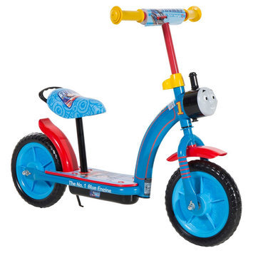 Chitech Thomas 2in1 Balance Bike and Scooter - Blue (10