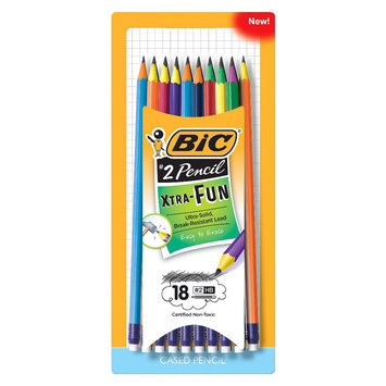 BIC Xtra Fun No. 2 Pencil in Assorted Colors