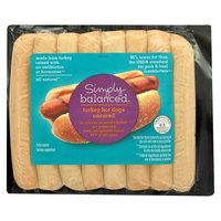 Simply Balanced Turkey Hot Dogs 12 oz