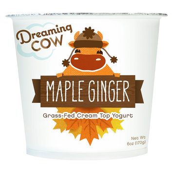 Dreaming Cow Creamery Dreaming Cow Yogurt Maple Ginger 6 oz