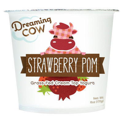 Dreaming Cow Creamery Dreaming Cow Yogurt Strawberry Pomegranate - 6 oz