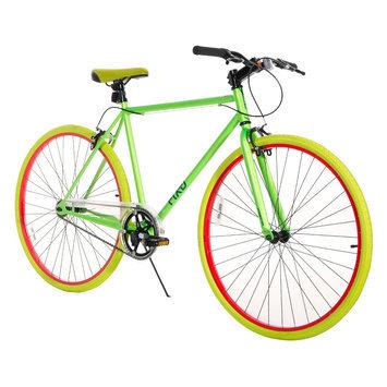 Chitech Fix-D 700C Road Bike - Neon Green (28