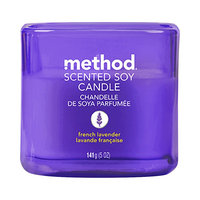 method french lavender scented soy candle