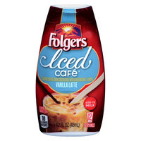 Smucker's Folgers Iced Cafe Vanilla Latte Concentrated Beverage Mix 1.62 oz