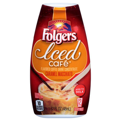 Smucker's Folgers Iced Cafe Caramel Macchiato Concentrated Beverage Mix 1.62 oz