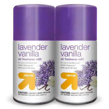up & up Lavender Vanilla Air Refresher Refill 6.1 oz 2 ct